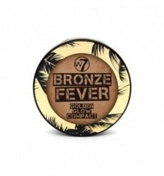 W7 BRONZER FEVER GOLDEN GLOW COMPACT 14 G