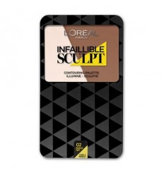 L´OREAL INFAILLIBLE SCULPT 02 MEDIUM
