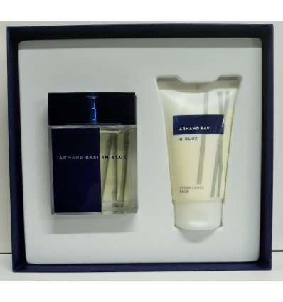 ARMAND BASI IN BLUE EDT 100 ML SPRAY +AFTER SHAVE BALM 150 ML