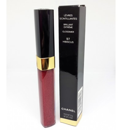CHANEL LEVRES SCINTILLANTES GLOSS 97 HIBISCUS