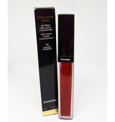 CHANEL AQUALUMIERE GLOSS 79 GINGER SHIMMER