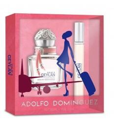 VIAJE A CEYLAN mujer Adolfo Domínguez 50 ml + 20 ml