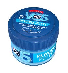 V05 REWORK PUTTY TRAVEL 30 ml FIJADOR CAPILAR