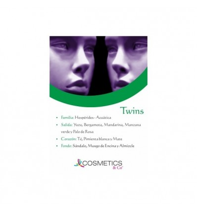 TWINS EDT 100ML HOMBRE Y MUJER