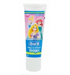 ORAL B PRO EXPERT STAGES PASTA DE DIENTES INFANTIL PRINCESAS / CARS 75 ML