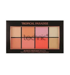 Technic Palette Tropical Paradise Blush and Highlighter