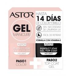 ASTOR 109 gel manicure pack duo esmaltes de uña 6 ml + 6 ml