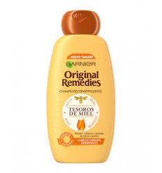GARNIER ORIGINAL REMEDIES CHAMPU MIEL CAB/DAÑADO 300 ml