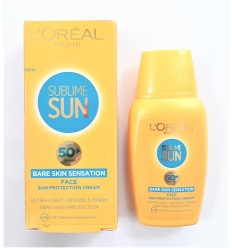 L'ORÉAL SUBLIME SUN CREMA PROTECCIÓN SOLAR FACIAL SPF 50+ ULTRA LIGHT 50 ML