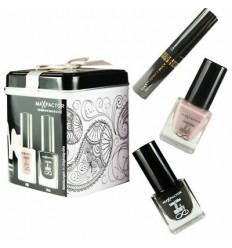 Max Factor Lata + Mini Masterpiece Mascara Black + Mini Nailfinity Boji + Mini Nailfinity Onyx