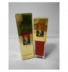 YSL La Laque Long-Lasting N 2 Rouge Desir Esmalte de uñas