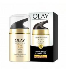 OLAY CC CREAM TOTAL EFFECTS 7EN1 TONO CLARO A MEDIO 50 ml