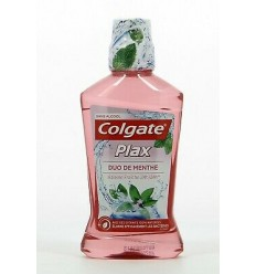 COLGATE PLAX ENJUAGUE BUCAL 500 ml DOBLE MENTA