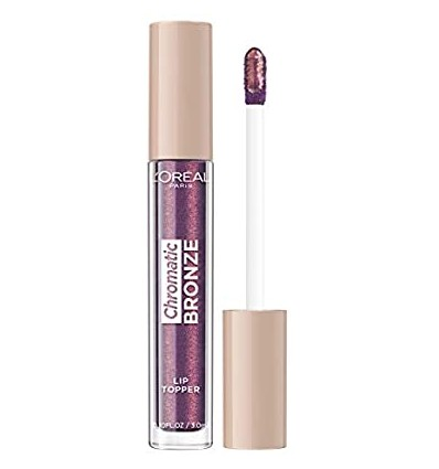 LOREAL CHROMATIC BRONZE LIP TOPPER 03 PUPLE FIZZ