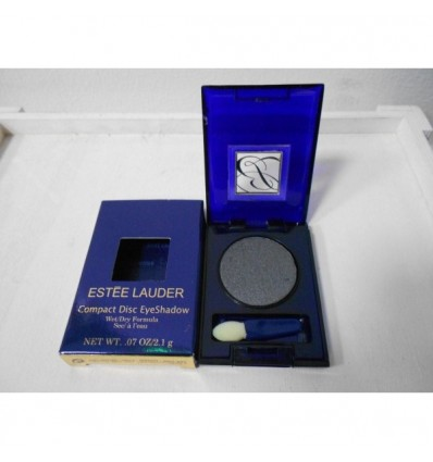 Estee Lauder Compact Disc EyeShadow Dry Formula. Color Gris oscuro