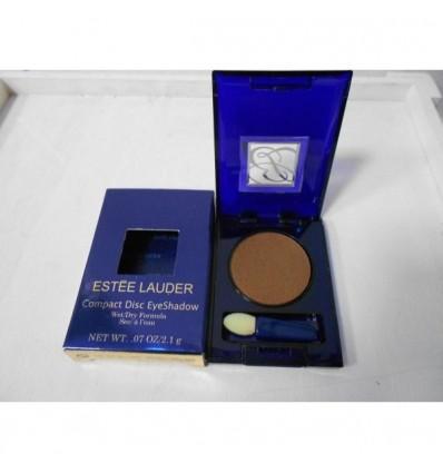 Estee Lauder Compact Disc EyeShadow Dry Formula. Color Marron