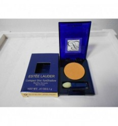 Estee Lauder Compact Disc EyeShadow Dry Formula. Color Orange nude