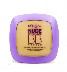 L'ORÉAL NUDE MAGIQUE BB POWDER POLVO COMPACTO TONO MEDIUM 9 g