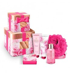 GRACE COLE BLOSSOMING 6PC (TINS, 50ML B/WASH, SOAP, 50ML H/CREAM, 50ML B/CREAM & POLISHER)