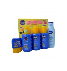 NIVEA FAMILY TRAVEL 5 solares ( 4 x 200 ml y 1 x 50 ml )
