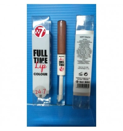 W7 Full Time Lip Color 24H Gloss Soft Touch