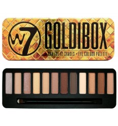 W7 Make up - Paleta de sombras Goldibox