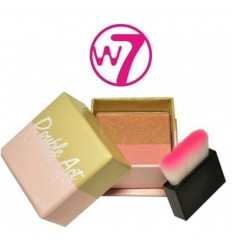 W7 DOUBLE ACT BRONZER AND BLUSHER 6GR