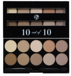 W7 10 out of 10 paleta 10 SOMBRAS MARRONES 1gX10
