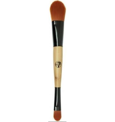 W7 DUO FOUNDATION & CONCEALER BRUSH BROCHA MAQUILLAJE