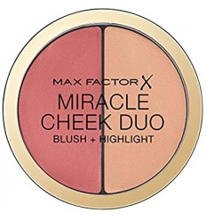 MAX FACTOR MIRACLE CHEEK DUO BROWN PEACH & CHAMPAGNE 020