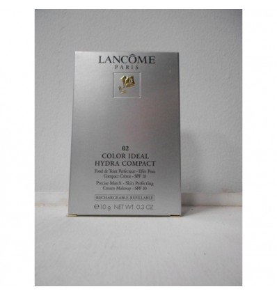 LANCOME Color Ideal Hydra Compact Maquillaje Compacto 02 Lys Rosé Spf 10