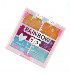 Sunkissed Rainbow Paleta Sombras de Ojos y Glitter