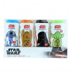 Star Wars Set Baño Geles Bath & Body Wash 4x75 ml
