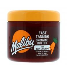 Malibu Fast Tanning Bronzing Butter Bronceador con Beta Caroteno 300 ml