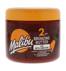 Malibu Bronzing Butter Bronceador con Beta Caroteno SPF 2 300 ml