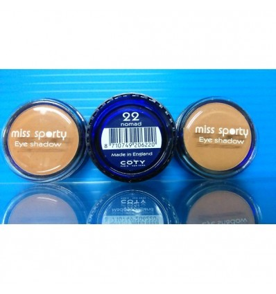 Miss Sporty eye shadow sombra ojos 22 nomad (marrón claro)