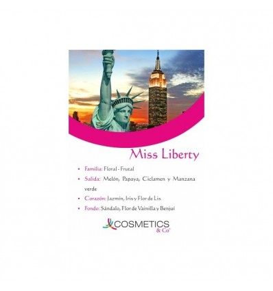 MISS LIBERTY EDT 100ML MUJER