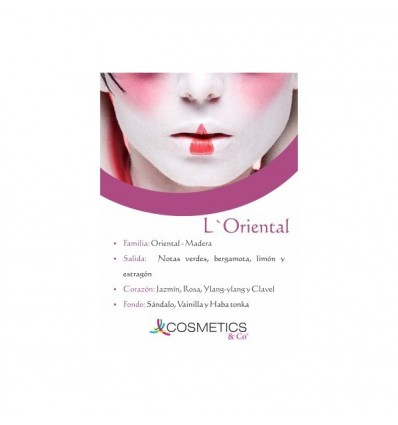 L´ORIENTAL EDT 100ML MUJER