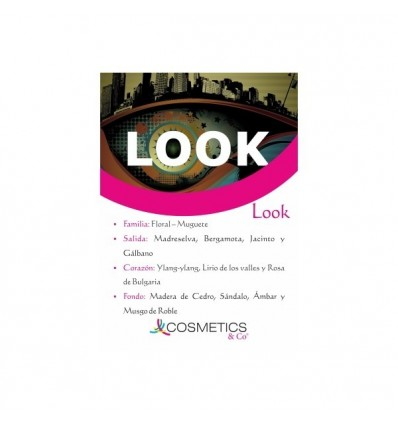 LOOK EDT 100ML MUJER