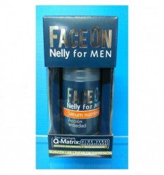 NELLY FOR MEN FACE ON SERUM NUTRITIVO ACCIÓN ANTIEDAD 50ML