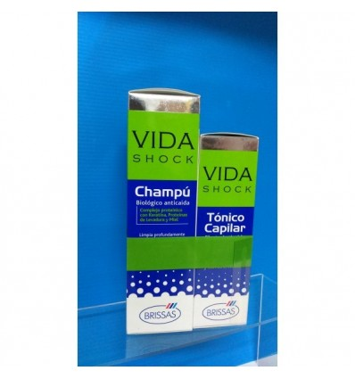 VIDA SHOCK duplo loción 150ml + champú 250ml