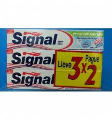 SIGNAL 3X2 PASTA DENTAL PROTECCIÓN ANTICARIES 3X75ML