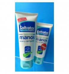 SALTRATOS CREMA DE MANOS DE ALOE VERA 100ML+ CR MANOS 50ML