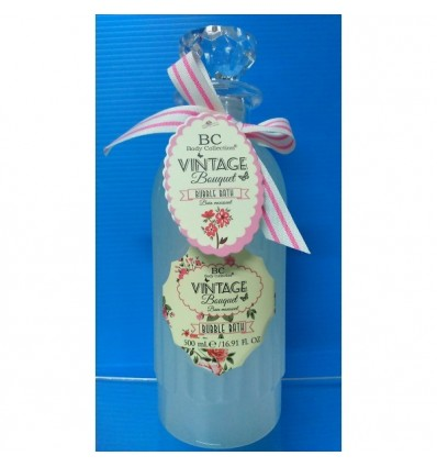 BODY COLLECTION VINTAGE ESPUMA DE BAÑO 500 ML REF 94513