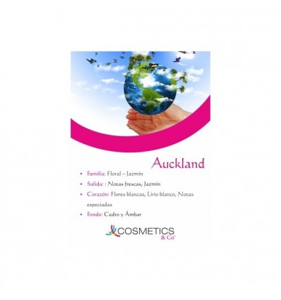 AUCKLAND EDT 100ML MUJER