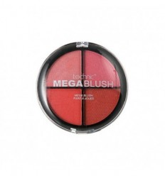 TECHNIC MEGA BLUSH 4 TONOS DE COLORETES