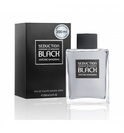 ANTONIO BANDERAS BLACK SEDUCTION EDT 200 ML SPRAY