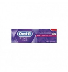 ORAL B 3D WHITE LUXE BRILLO SEDUCTOR DENTÍFIRCO 75 ML
