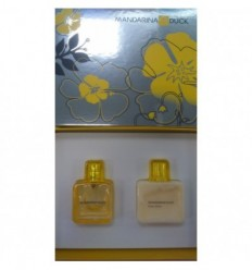MANDARINA DUCK WOMAN ESTUCHE EDT 30ML+BODY LOTION 75ML