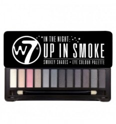 W7 UP IN SMOKE PALETA 12 SOMBRAS DE OJOS
